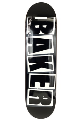 Skateboard Baker Logo 8.475'' Black White