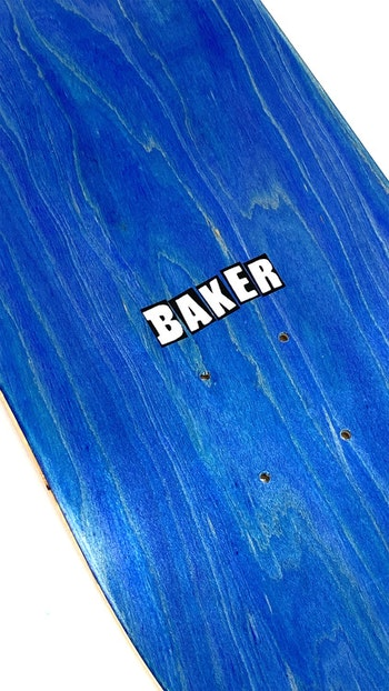 Skateboard Baker Logo 8.475'' Red