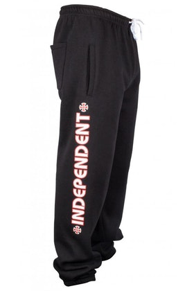 Independent Sweatpant Bar Cross Jogger Black
