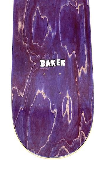 Skateboard Baker Logo 8.0'' White
