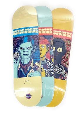 Skateboard Chrononaut The M-Files Complete Series