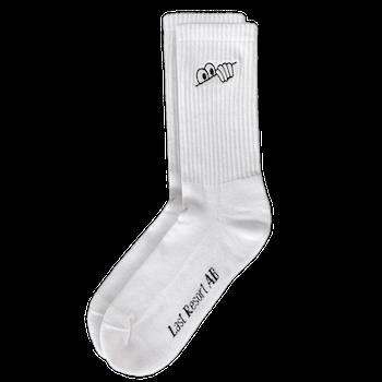 Socks Last Resort AB Eyes White
