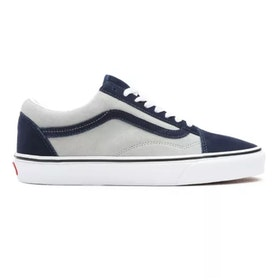 Vans Old Skool Blue/Grey ( all Suede )