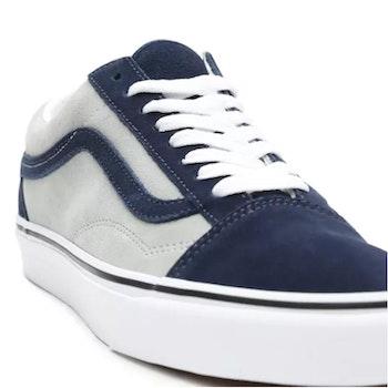 Vans Old Skool Blue/Grey ( all Suede )