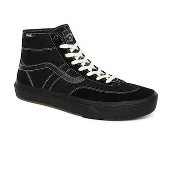 Vans Crocket Hi Pro Black Black