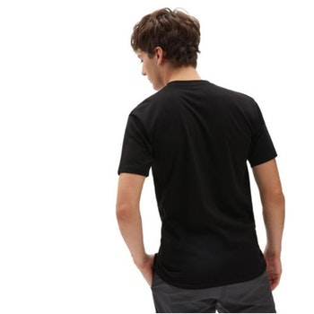 T Shirt Vans Classic Logo Black White