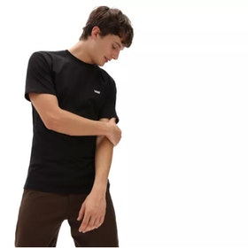 T Shirt Vans Core Black White