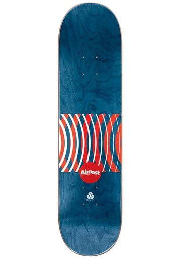 Skateboard Almost Cooper Red Rings Impact 8.0''