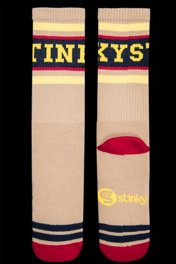 Stinky Socks Player Mustard
