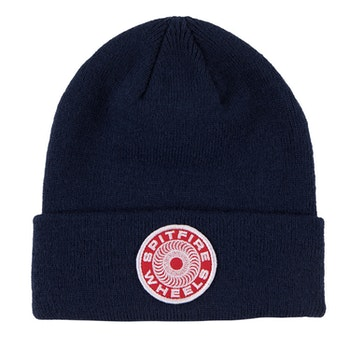 Beanie Spitfire Classic 87 Swirl Patch Navy/Red/White