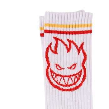 Socks Spitfire Bighead White/Yellow/Red
