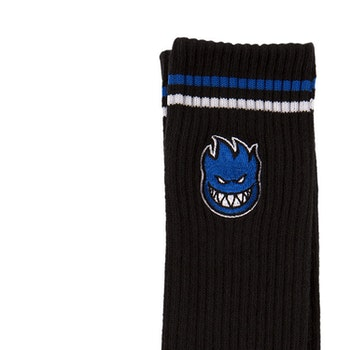 Socks Spitfire Bighead Fill EMB Black/Blue/White