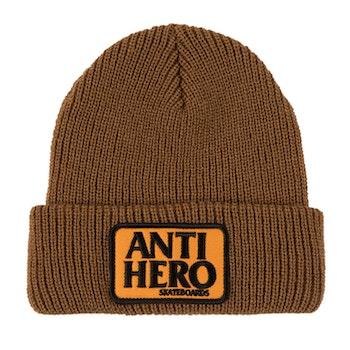 Beanie Antihero Reseve Patch Cuff Brown/Orange