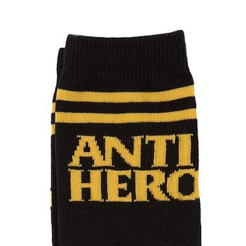 Socks Antihero Black/Yellow