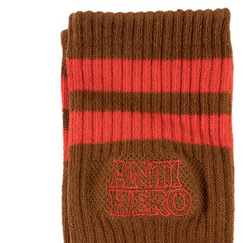 Socks Antihero Brown/Red