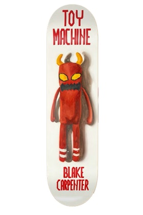 Skateboard Toy Machine Blake Carpenter Doll 8,38''