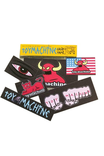 Griptape Toy Machine Grip Stickers Pack