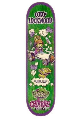 Skateboard Creature Freaks Lockwood 8,25''
