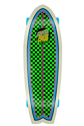Complete Santa Cruz Red Dot Shark Green