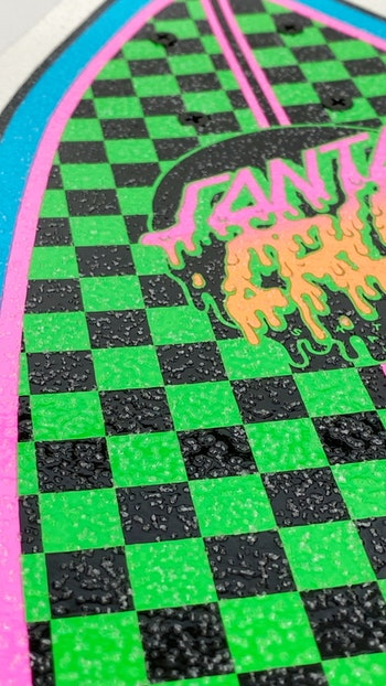 Complete Santa Cruz Red Dot Shark Green