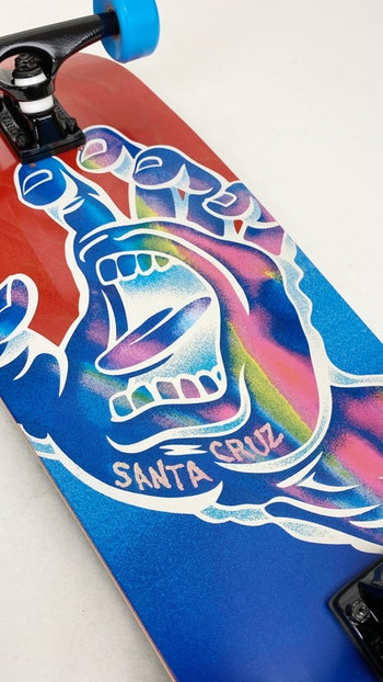 Complete Santa Cruz Hand Cruzer Iridescent