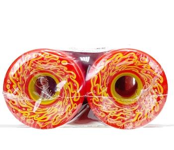 Wheels Slime Balls OG Slime Red Yellow  60 mm 78a