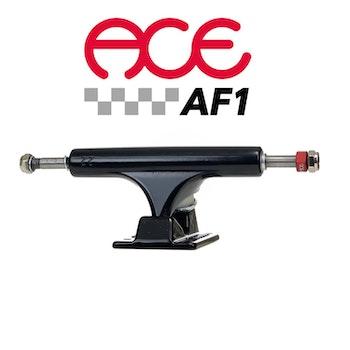 Ace AF1 22 Polished Skateboard Trucks Black