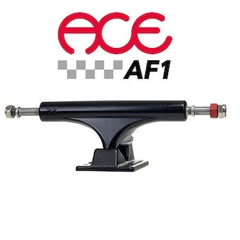 Ace AF1 44 Polished Skateboard Trucks Black