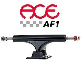Ace AF1 55 Polished Skateboard Trucks Black