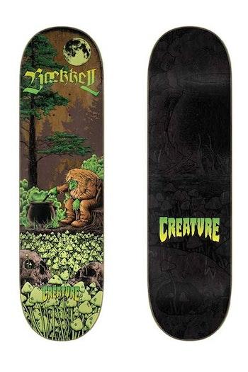 Skateboard Creature Baekkel Troll 8,6''