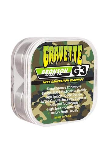 Bronson G3 Gravette Skateboard Bearings