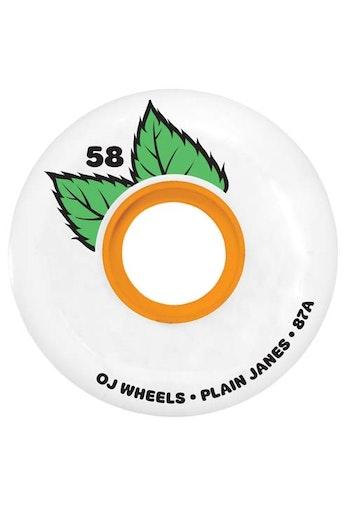 OJ Wheels Plain Janes 58mm 87a Soft Wheels