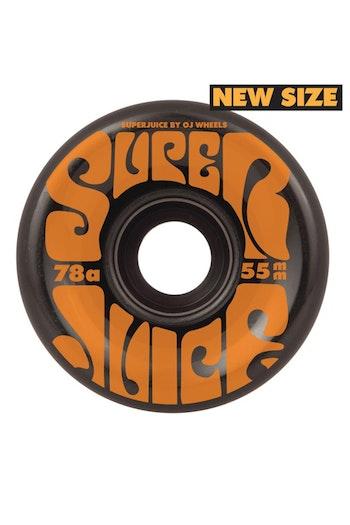 OJ Wheels Soft Mini Super Juice 78a Black 55mm