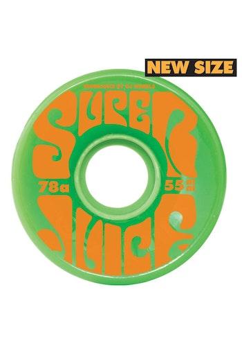 OJ Wheels Soft Mini Super Juice 78a Green 55mm