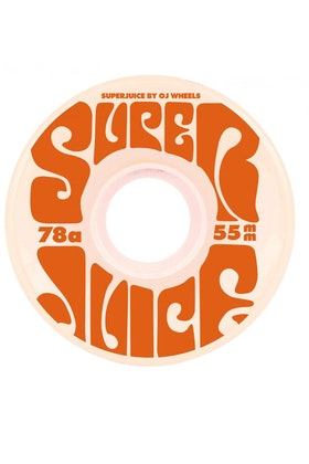 OJ Wheels Soft Mini Super Juice 78a White 55mm