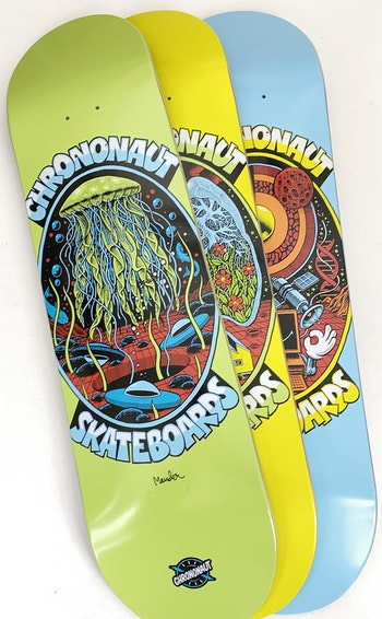 Skateboard Chrononaut ''1985''