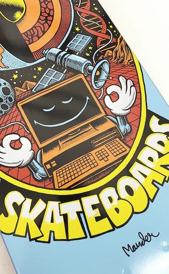 Skateboard Chrononaut ''I-T Phone Home''
