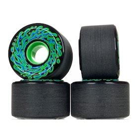 Wheels Slime Balls OG Slime Black Green 60 mm 78a