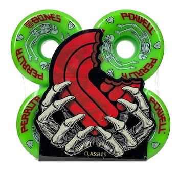 Powell Peralta G Bones Green 64mm  97a