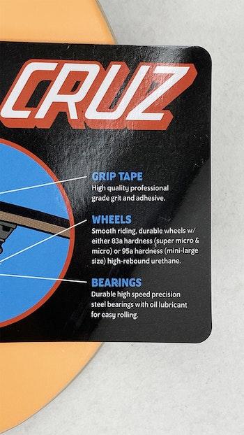 Santa Cruz Complete Screaming Hand 7,8''