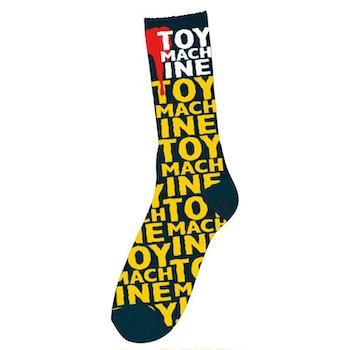 Socks Toy Machine New Blood Navy Blue