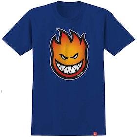 T Shirt Spitfire  Bighead Fade Fill Royal Blue