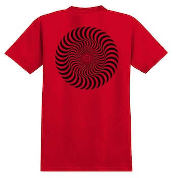 T Shirt Spitfire  Classic Swirl Youth Red