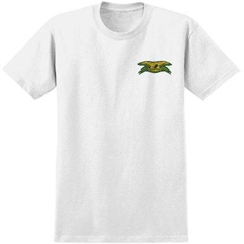 T Shirt Antihero Basic Chest Eagle White