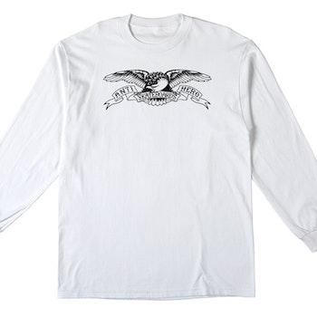Long Sleeve T Shirt Antihero Basic Eagle White