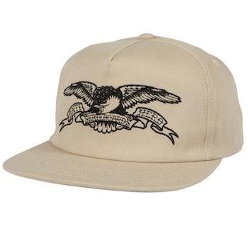 Cap Antihero Basic Eagle Snapback Khaki Black
