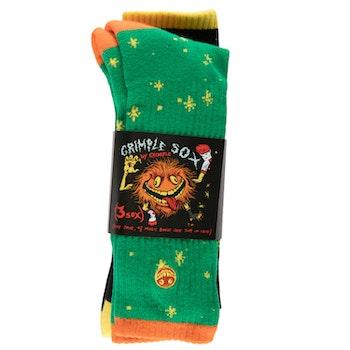 Socks Antihero Grimple Stix Dust Sock Pair plus one