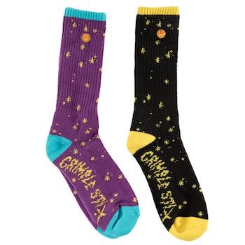 Socks Antihero Grimple Stix Dust Sock Purple Pair plus one