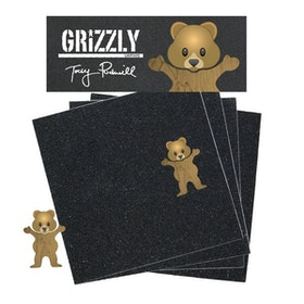 Grizzly Torey Pudwill Pro Griptape Squares