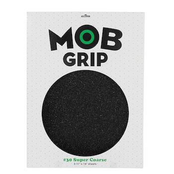 MOB Super Coarse 30 Grit Skateboard Griptape Black 11'' * 14''